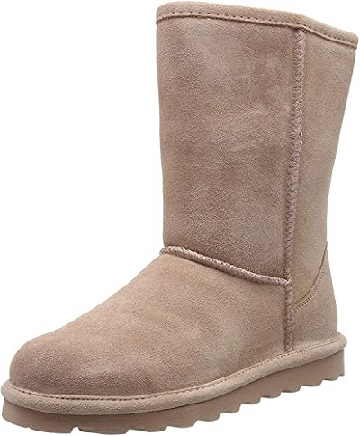 Bearpaw short slouch boots