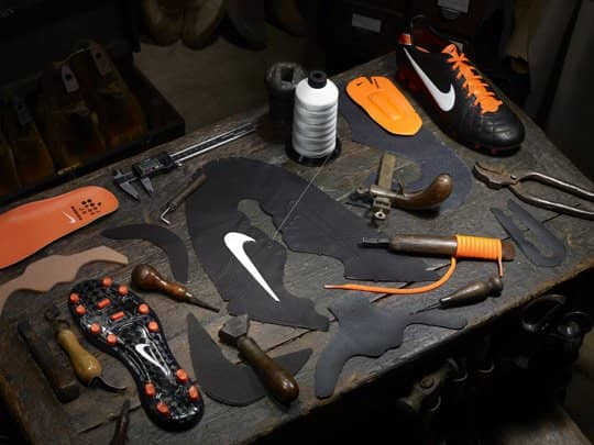 What Are Soccer Shoes Made Of?
